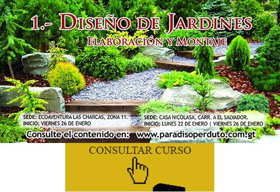 Cursos for Curso diseno jardines